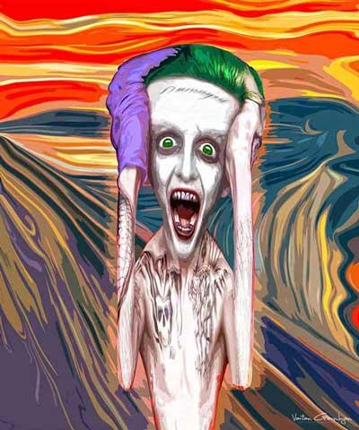 VGarnikyan_Scream_batman-pop-art
