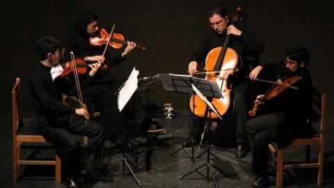 """Crisantemi"" عنوانِ هفدهمین کُنسرتِ کوارتِتِ زهیِ اروند، ۲۱ خردادماه در تالارِ رودکی"