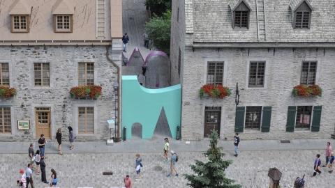 چیدمان شهری واقعیت و خیال