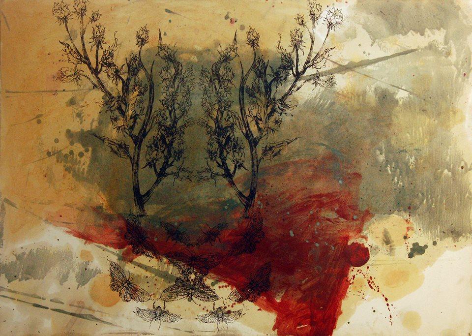 """نمایشگاه آثار سارا دهقان با عنوان """"حیات بیمارگونه"""""""