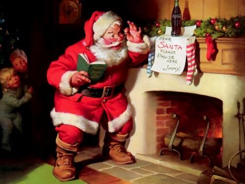 بابانوئل خندان؛ تصویری که عموما در ذهن جهانیان نقش بسته است
