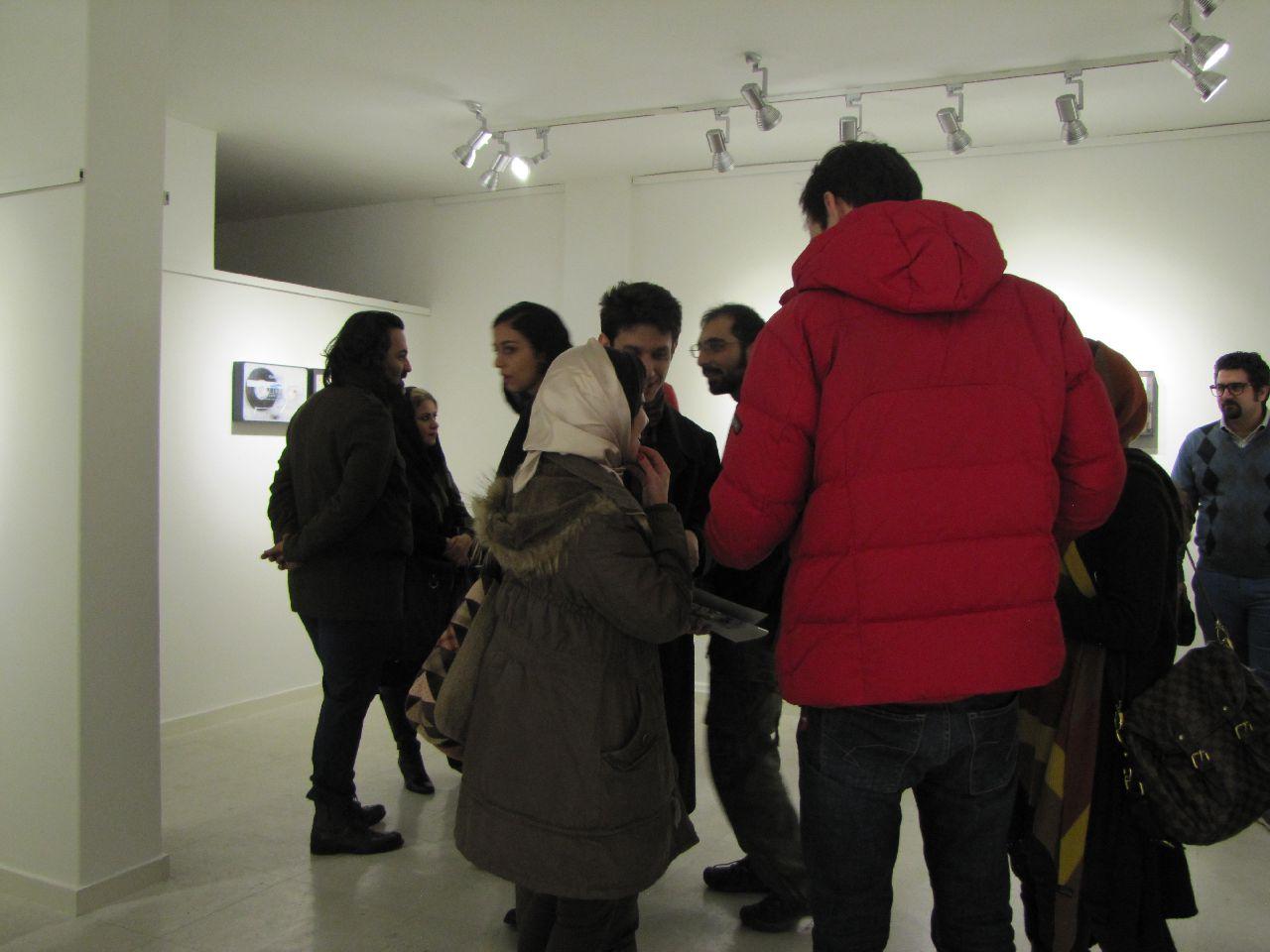 مروری بر آثار محمودرضا نوربخش در گالری مهروا
