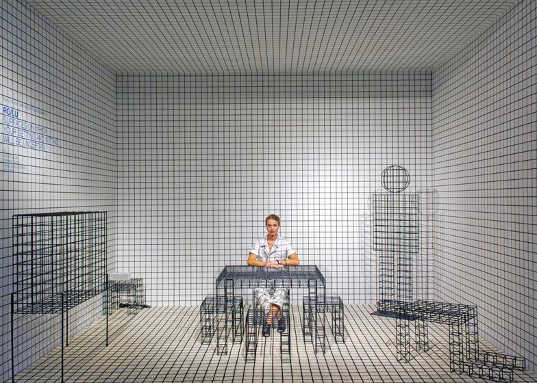 نمایش مبلمان و پوشاک مشبک در پاتریک گالری