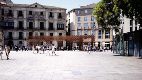 چیدمان های معمارانه در میدان تاریخی نوا