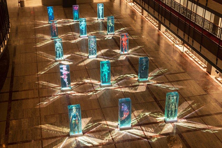 رقصندگان شیشه ای در سالن لینکلن