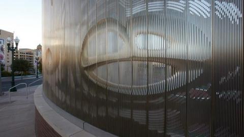 حصاری هنرمندانه در تگزاس