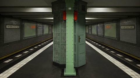 متروی برلین از دوربین پاتریک کافمن