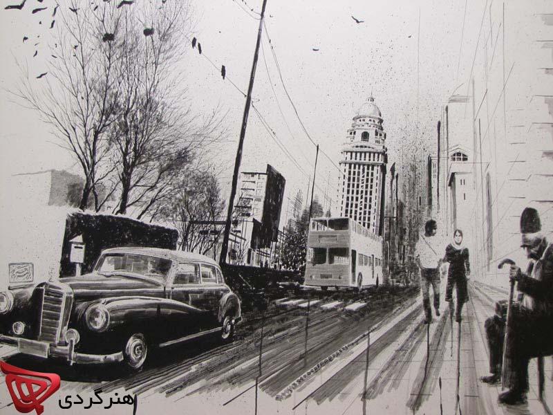 طراحی های بزرگمهر حسین پور در آرت سنتر