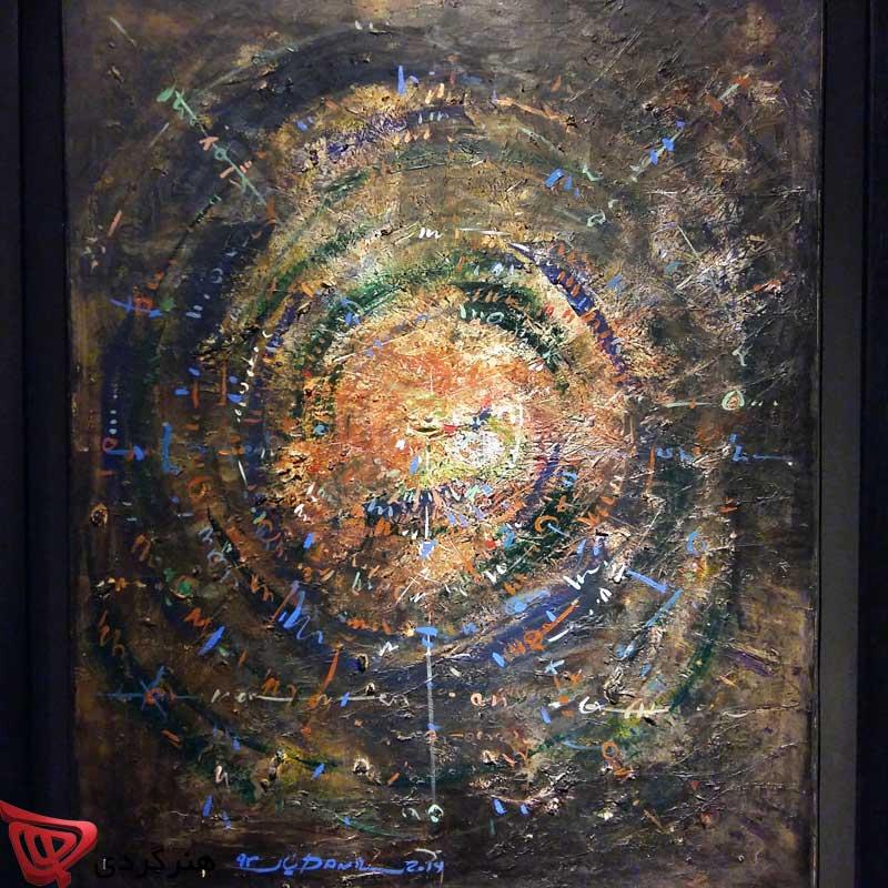 دومین نمایشگاه انفرادی دانیال ملانوروزی