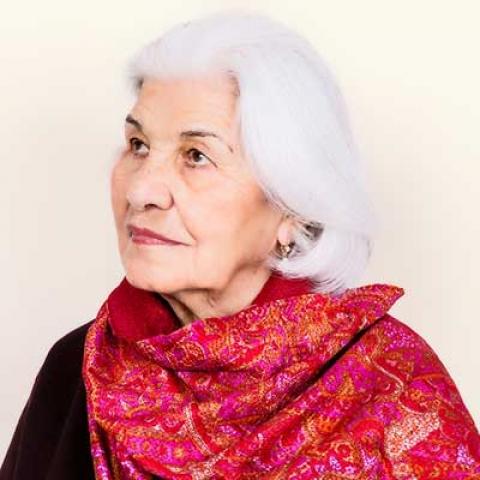نمایش آثار منیر شاهرودی فرمانفرمائیان در باغ موزه نگارستان تهران
