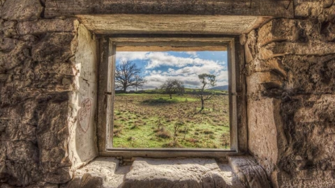 پنجره های متروک نماهای رازآلود