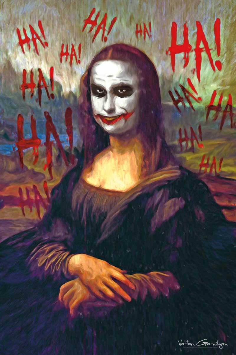 VGarnikyan_MonaLisa_batman-pop-art