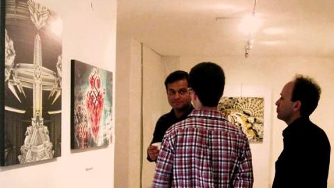 یادداشتِ مدیرِ گالریِ هنرِ امروز در معرفیِ مهرداد گروسی و فرکتال آرت