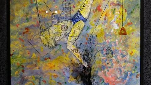 مروری بر آثار وحید احمدی طباطبایی در گالری مهروا
