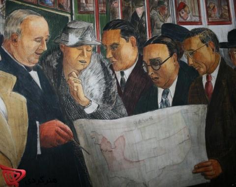 مرور تاریخچه تجارت هنر