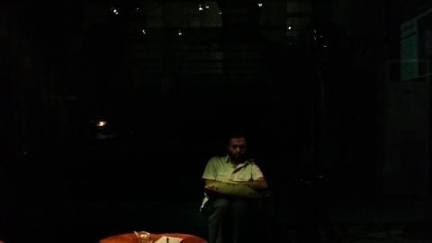 اجرای صابر ابر در گالری محسن