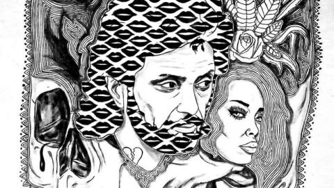 داستان عامیانه در گالری مهروا