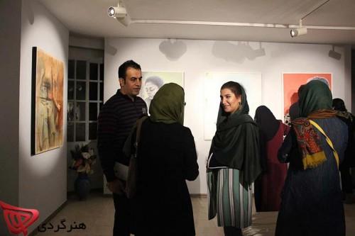 aliha art gallery second exhibition honargardi nasrin barekat alireza mohamamdshah 2015 1394 (6)