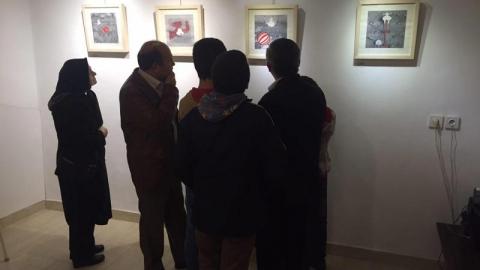 نمایشگاه دنیای کم رنگ در نگارخانه کوچهباغ
