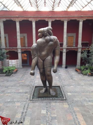 José Luis Cuevas_Museum_ mina mokhtarian_honargardi_artevents_iran_art_2015_1394_azar_mexico (1)