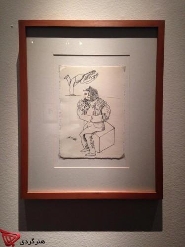 José Luis Cuevas_Museum_ mina mokhtarian_honargardi_artevents_iran_art_2015_1394_azar_mexico (9)