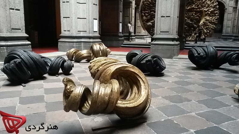 آثار تازه خاویر مارین با عنوان جسمیت