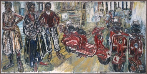 john bratby kitchen sink painting_honargardi_artevents_1