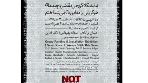 توضیحات شاهین محمدی درباره نمایشگاهش