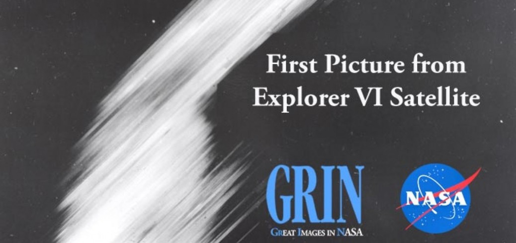 اولین تصویر ماهواره ای