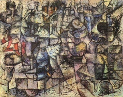 Carlo_Carrà_1911_Rhythms_of_Objects_Pinacoteca_di_Brera