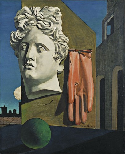 DeChirico-The Song of Love1914