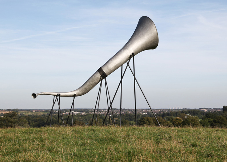 شیپورهایی برای گسترش صدای طبیعت