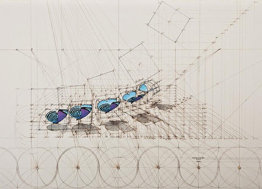 زیبایی تناسبات در آثار رافائل آروخو