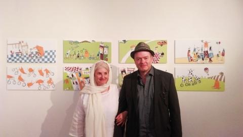 تصویرسازی کتاب های مصور سوییسی در ارسباران