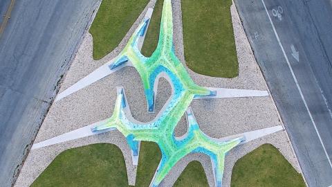 مجسمه ی آلومینومی مارک فورنس