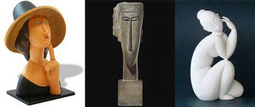 مجسمه-آمادئو مودیلیانی