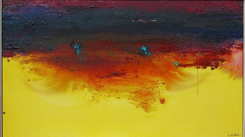 نقاشی زمینه رنگ