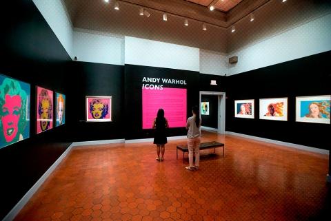 اندی وارهول در موزه هنر فرالین، دانشگاه ویرجینیا