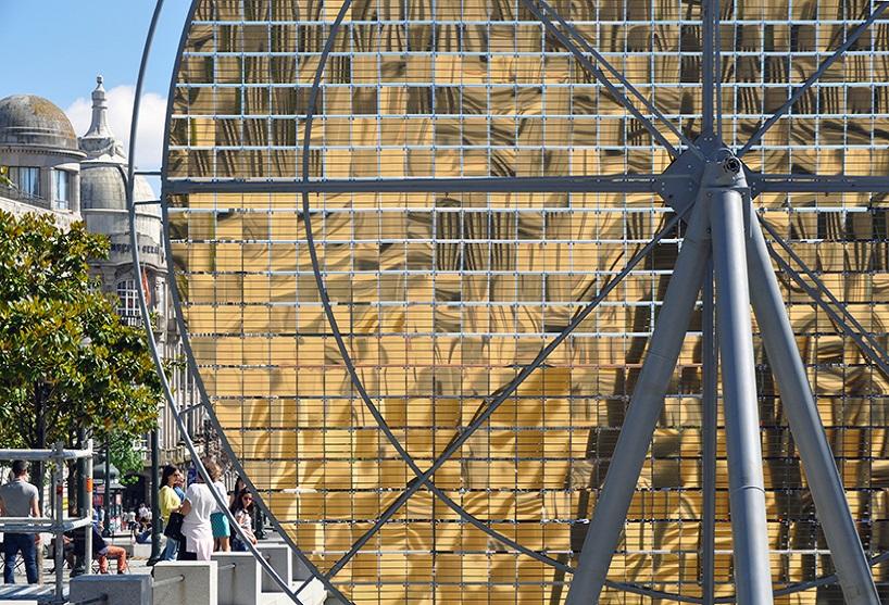 چیدمان چرخ خورشیدی در پرتغال