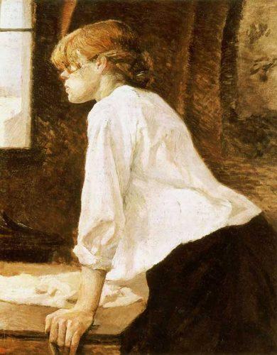"""تابلوی """"زن شوینده""""، ۱۸۸۹"""