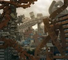 پیچ و تاب ساختمان های جاندار درون فضای شهری