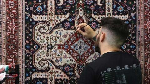 نقاشی فرش های جیسون سایفی