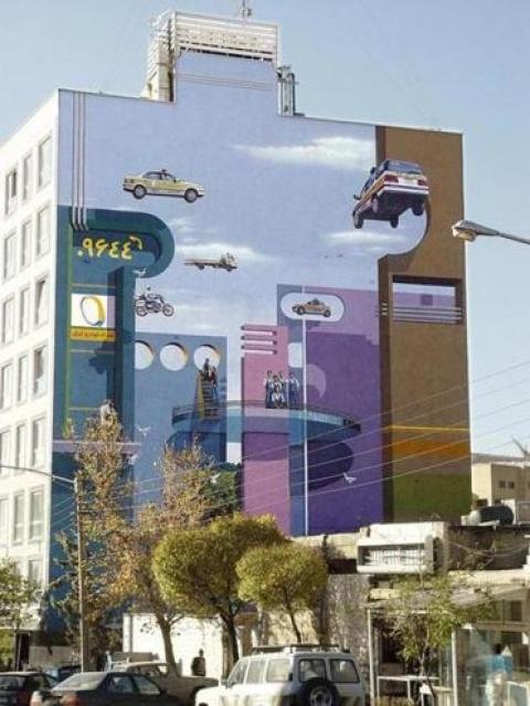 قدیانلو، مردی که دیوارنگار جدید خیابان گرینوی را خلق خواهد کرد