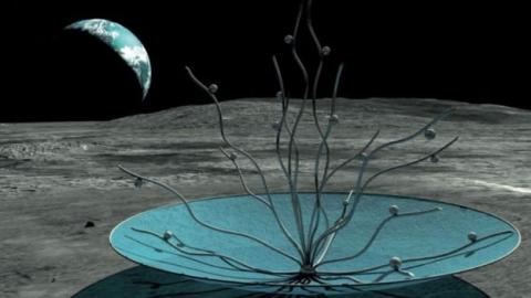 دومین اثر هنری تاریخ روی کره ماه نصب میشود