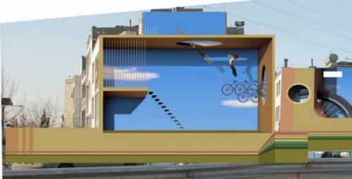هنر خیابانی و نقاشی های دیواری مهدی قدیانلو - مجموعه طراحی طرحان