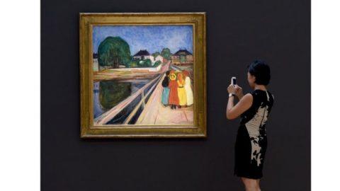 'دختران روی پل' اثر مونک حدود ۵۵ میلیون دلار فروخته شد