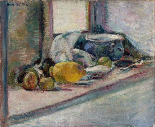 ظرف آبی و لیمو - ۱۸۹۷