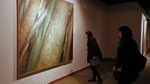 نمایشگاه آثار هنرمندان ایرانی و عرب در تهران