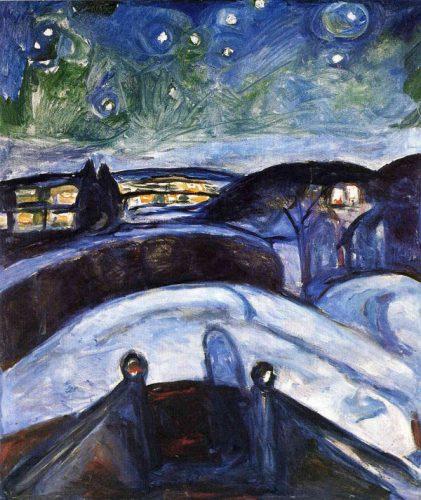 شب پر ستاره - 1924