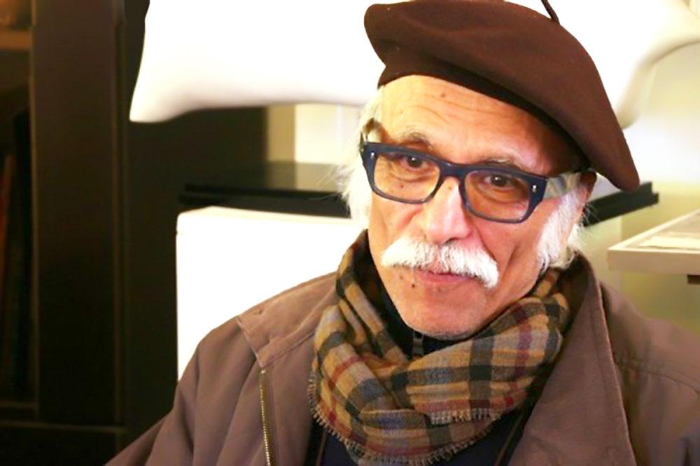 استاد هنرهای تجسمی محمد ابراهیم جعفری
